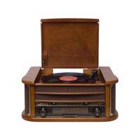 Vitrola Raveo Ópera BT CD Player USB Bluetooth Rádio FM Vitrola E Toca Disco