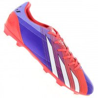 Chuteira do Messi Campo Adidas F10 FG Roxo e Rosa  7d686a0cc3924