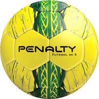 Bola de Futebol Penalty com Guizo Amarelo e Verde
