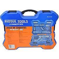 Jogo de Ferramentas Riosul Tools 214 Peças