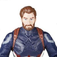 Boneco de Ação com Joia Disney Marvel Avengers Guerra Infinita Capitão América 20cm Hasbro