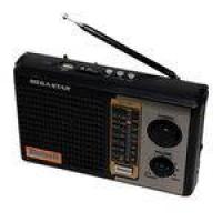 Rádio Portátil Megastar Rx-17bt Am-fm Com Bluetooth-USB-sd Bivolt - Preto