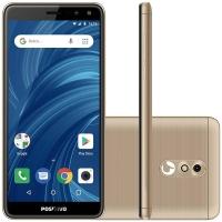 Smartphone Positivo Twist 2 Pro S532 Desbloqueado GSM Dourado e Preto