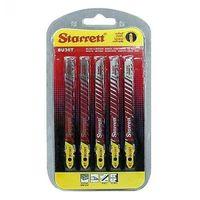 Cartela de lâmina para serra tico tico Starrett BU36T 6 dentes com 5 peças