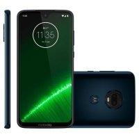 Smartphone Motorola Moto G7 Plus XT1965 Desbloqueado 64GB Dual Chip Android Pie 9.0 Indigo