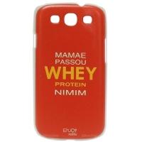 Capinha Para Smartphone Galaxy S3 Rígida Enjoy Mobile Whey Protein