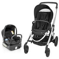 Carrinho de Bebê Maxi-Cosi Travel System Elea Preto