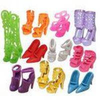 10 Pares De Moda Sortidas Sapatos Diferentes Botas Para Barbie Doll Girls Toy Presente