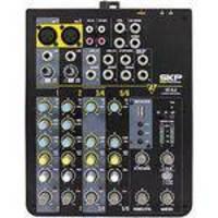 Mesa De Som 6 Canais Com Usb Mp3 Player 220v Vz-6.2 Skp