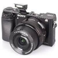 Câmera Digital Sony Alpha A6000 Mirrorless 24.3MP Com Lente 16-50mm Preta