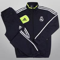 Agasalho Adidas Real Madrid Viagem 12 13 Masculino Marinho  c00b82e24fbbb