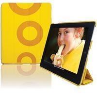 Case para iPad 2 Youts iSmart Couro Amarelo