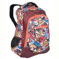 Mochila Escolar G Sestini De Costas Paul Frank 16t05 Cartoon Colorida