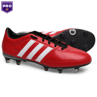 Chuteira Adidas Gloro 16.1 FG Campo Masculino Vermelha e Branca ... 829c23415dae1