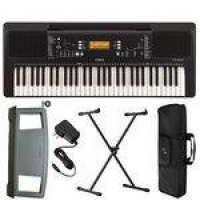 Kit Teclado Psr E363 Yamaha Fonte Suporte teclado Suporte Partitura Capa