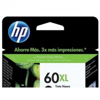 Cartucho de Tinta Preto HP 60XL CC641WB