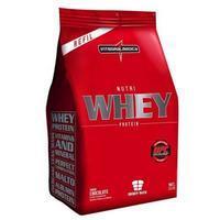Suplemento Integralmédica Nutri Whey Protein Refil Chocolate 907g