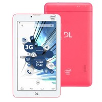 Tablet DL TabPhone 710 Dual Chip 8GB WiFi 3G Android 5.0 Rosa