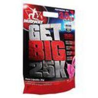 Get Big 25.000 - 3kg - Morango - Midway