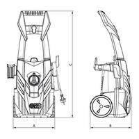 Lavadora de Alta Pressão Tramontina 1400W 127V