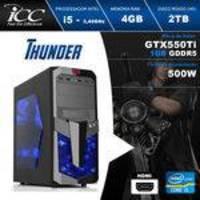PC Gamer ICC IT2543S Intel Core i5 3,2 Ghz 4GB (GeForce GTX-550TI 1GB DDR5 128Bits) 2TB DVI HDMI FULL HD