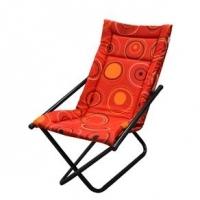 Cadeira Metalmix Articulável Mônaco Vermelha