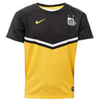 3e956dbb5e133 Camisa Nike Santos 3 Boys Masculina Amarela Tamanho P