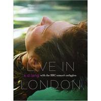 k.d. lang: Live In London With The BBC Concert Orchestra Multi-Região/Reg.1