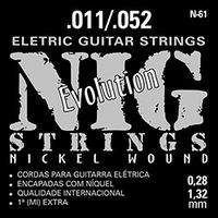 Cordas para Guitarra Nig Strings Elétrica 011-052