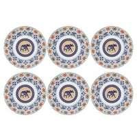Conjunto 6 Pratos Para Sobremesa Coup Shanti 21cm Em18 4665 Oxford