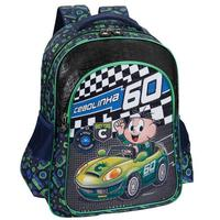 Mochila Costas Pacific Cebolinha Speed Machine Grande