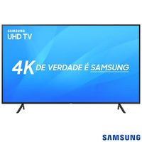 Smart TV 4K LED 2018 UHD 43 Samsung UN43NU7100GXZD Preta