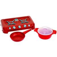 Cooktop Candide Master Chefe Junior Vermelha