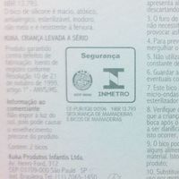 Bico de Silicone para Mamadeira Kuka Redondo Transparente