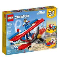 Lego Creator 3 Em 1 Avião Acrobacias Ousadas 31076