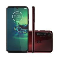 Smartphone Motorola G8 Plus XT2019-2 Desbloqueado 64GB Dual Chip Android 9.0 Cereja