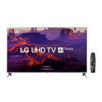 Smart TV LED 50 4K LG 50UK6510 Conversor Digital + Controle Smart Magic