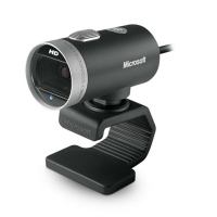Webcam Microsoft LifeCam Cinema H5D-00013 Preta