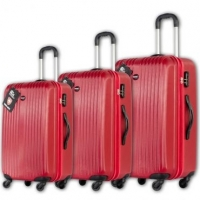 Conjunto de Malas 23 28 e 30'' Swiss Move Vermelha