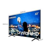 "Smart TV 4K Samsung 65"" TU7000, UHD, 2 HDMI, 1 USB, Wi-Fi Integrado"
