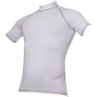 Camisa Flets Sport Pro Layer Manga Curta Masculina Branca