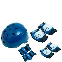 Kit de Proteção Com Capacete Belfix EPS M (4 a 6 Anos) Azul