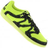 Chuteira de Futsal adidas X 15.4 Street Verde Claro e Preta  c66bd7b9db9ef
