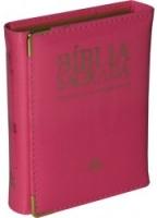 Bíblia Sagrada NTLH - Edição econômica - nova diagramação, capa tipo carteira com velcro e glitter,