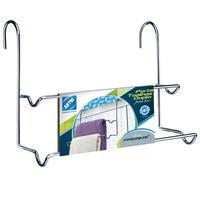 Porta Toalha Duplo para Box Arthi Premium Cromado