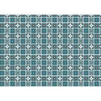 Toalha de Mesa Mainci Bemeq Azul 1.00x1.40cm