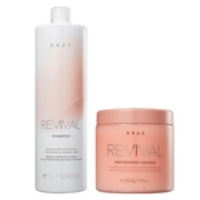 Shampoo 1L + Mascara 500G Revival - Braé Kit