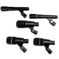 Drka3c2 - Kit 5 Microfones C/ Fio P/ Instrumentos Drk A3 C2 - Superlux