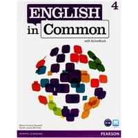 Livro + CD - English in Common 4: Student Book - ActiveBook - Sarah Birchley and Maria Saumell