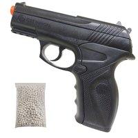 Pistola Airsoft Win Gun C11 492 Fps + 500 Bb's 0,20G + 2 Mini Cilíndro Co2